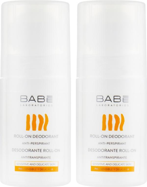 """Набор дезодорант-аптиперспирантов """"24 часа защита и комфорт"""" - Babe Laboratorios (deo/2x50ml)"""
