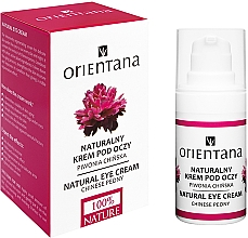 Духи, Парфюмерия, косметика Крем для век - Orientana Bio Eye Cream Regenerating & Rejuvenating