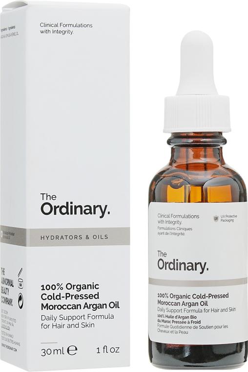 Органическое марокканское аргановое масло холодного отжима - The Ordinary 100% Organic Cold-Pressed Moroccan Argan Oil