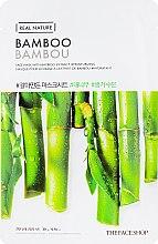 Духи, Парфюмерия, косметика Маска-салфетка для лица бамбук - The Face Shop Real Nature Mask Sheet Bamboo