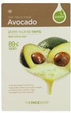 Духи, Парфюмерия, косметика Маска-салфетка для лица c экстрактом авокадо - The Face Shop Real Nature Mask Sheet Avocado