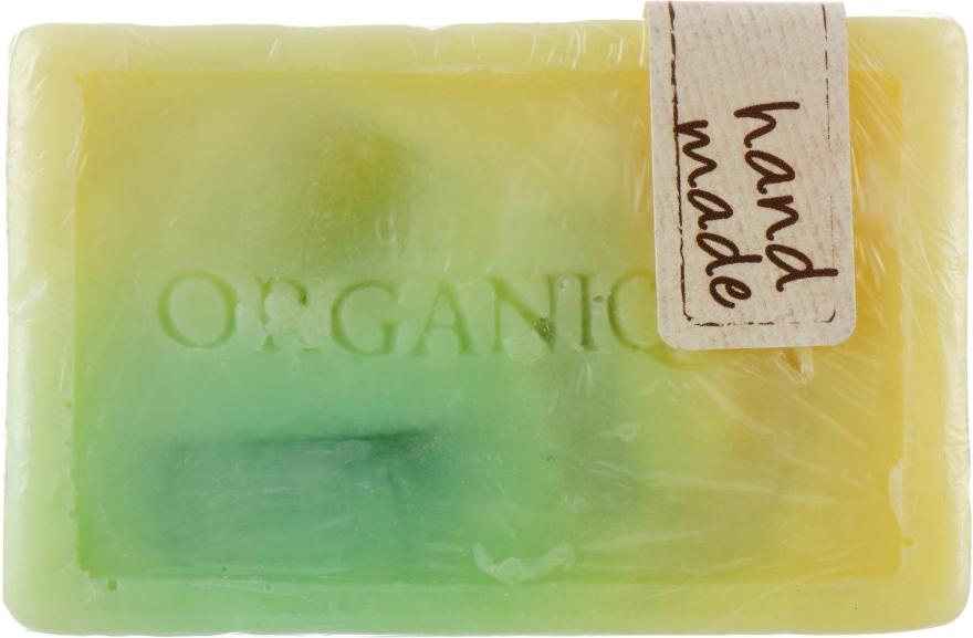 """Гліцеринове мило куб """"Лемонграс"""" - Organique Soaps — фото N1"""