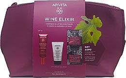 Духи, Парфюмерия, косметика Набор - Apivita Wine Elixir (cream/40ml + milk/50ml + mask/2x8ml)