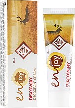 Духи, Парфюмерия, косметика Эко-крем-дезодорант - Enjoy & Joy Discovery Deodorant Cream (туба)