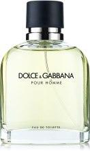 Духи, Парфюмерия, косметика Dolce&Gabbana Pour Homme - Туалетная вода (тестер с крышечкой)