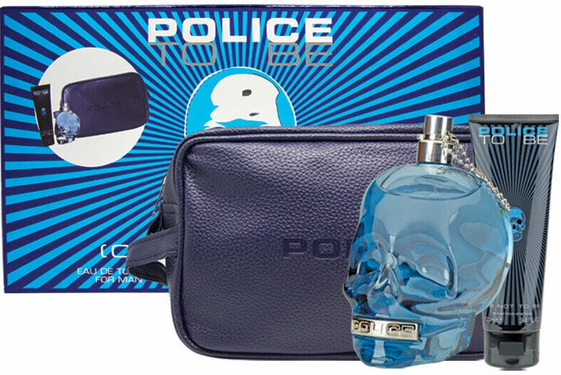 Police To Be Men - Набор (edt/125ml + sh/gel/100ml + bag)