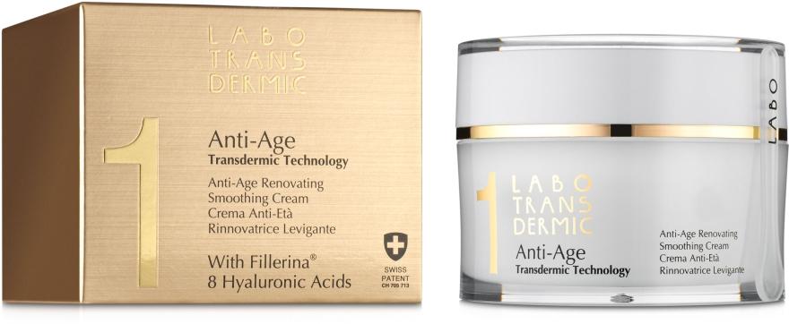 Антивозрастной восстанавливающий и выравнивающий крем - Labo Transdermic 1 Anti-Age Renovating Smoothing Cream