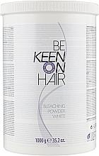 Порошок для блондування, білий - Keen Bleaching Powder — фото N3