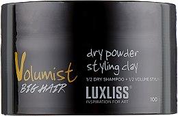 Духи, Парфюмерия, косметика Моделирующая глина для волос - Luxliss Volumist Rock Shake Dry Powder Styling Clay