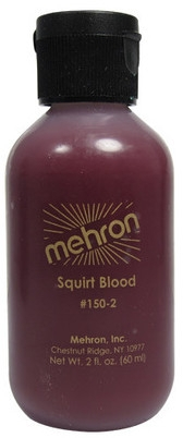 Кровь для брызг - Mehron Squirt Blood Bright Arterial