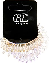 Духи, Парфюмерия, косметика Набор резинок для волос, 405004, прозрачно-голубая+прозрачно-розовая+прозрачно-оранжевая - Beauty Line