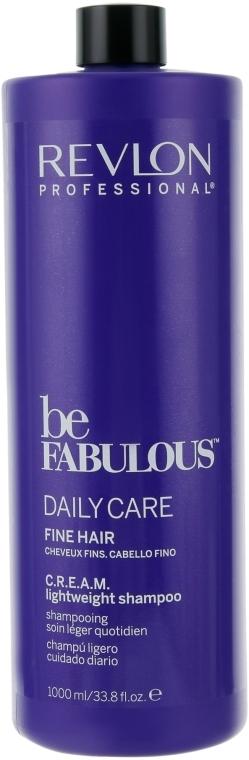 Шампунь для тонких волос - Revlon Professional Be Fabulous C.R.E.A.M. Lightweight Shampoo