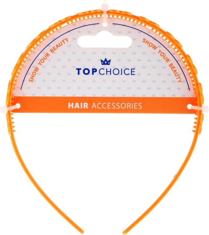 Обруч для волос, 27918, оранжевый - Top Choice
