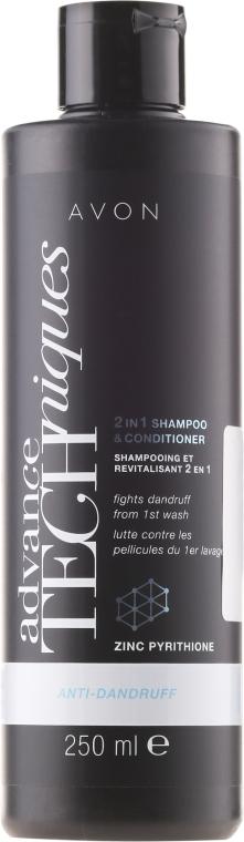 "Шампунь и кондиционер 2-в-1 ""Стоп перхоть"" - Avon Advance Techniques Anti-Dandruff Shampoo&Conditioner"