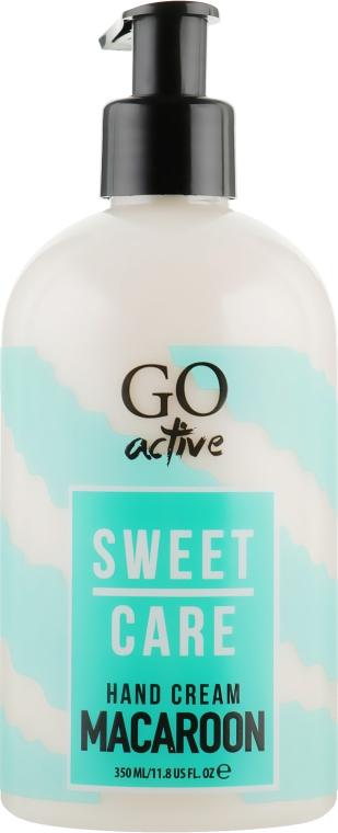 Крем для рук - GO Active Sweet Care Macaroon Hand Cream