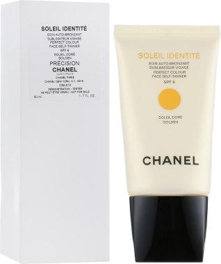 Средство для автозагара - Chanel Soleil Identite SPF 8 Golden (тестер)
