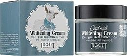 Духи, Парфюмерия, косметика Отбеливающий крем с экстрактом козьего молока - Jigott Goat Milk Whitening Cream