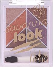 Духи, Парфюмерия, косметика Палетка теней для век - Avon Color Trend Savanna Look Eyeshadow Palette