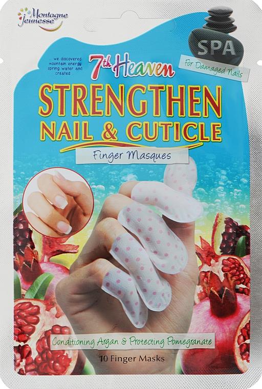 Маска для ногтей - 7th Heaven Strengthen Nail & Cuticle Finger Mask Single