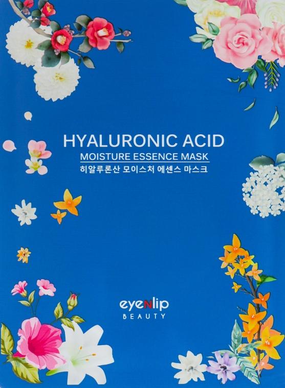 Тканевая маска для лица - Eyenlip Hyaluronic Acid Moisture Essence Mask