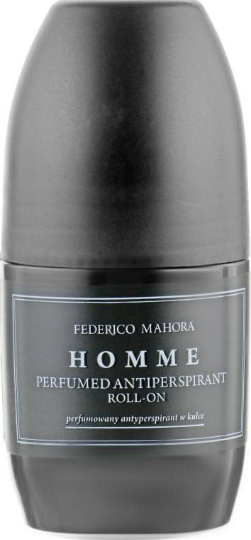 Антиперспирант шариковый - Federico Mahora 134 Homme Parfumed Antiperspirant Roll-On