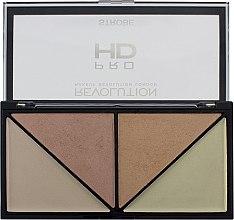Духи, Парфюмерия, косметика Палетка хайлайтеров для стробинга - Makeup Revolution HD Pro Strobe Revolution
