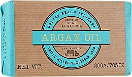 "Духи, Парфюмерия, косметика Мыло ""Аргановое масло"" - The Somerset Toiletry Co. Delray Beach Argan Oil Triple Milled Vegetable Soap Bar"
