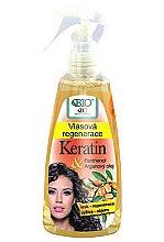 Духи, Парфюмерия, косметика Регенерирующий спрей для волос - Bione Cosmetics Keratin + Argan Oil Hair Regeneration With Panthenol