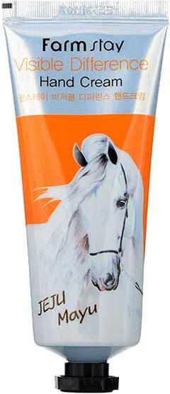 Крем для рук с лошадиным маслом - Farmstay Visible Difference Hand Cream
