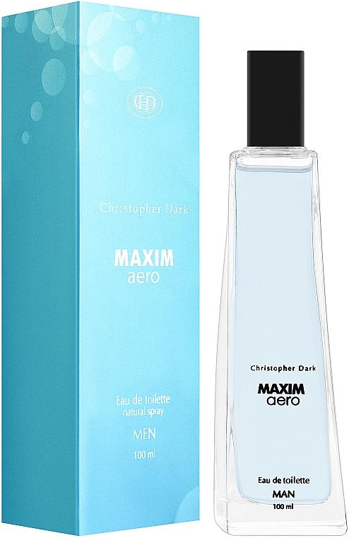 Christopher Dark Maxim Aero - Туалетна вода — фото N1