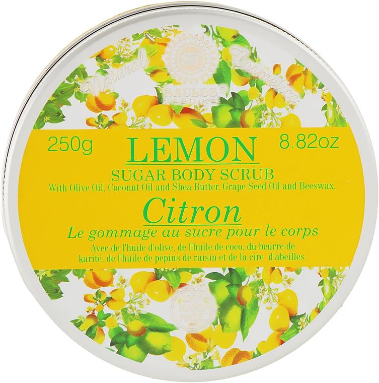 """Скраб для тела сахарный """"Лимон"""" - Saules Fabrika"""