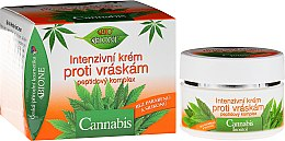 Духи, Парфюмерия, косметика Крем для лица против морщин - Bione Cosmetics Cannabis Intensive Anti-Wrinkle Cream