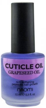"Масло для кутикулы ""Из виноградных косточек"" - Naomi Cuticle Oil Grapeseed"