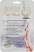 Духи, Парфюмерия, косметика Интенсивная увлажняющая маска для ног - Satin Smooth Foot Pack