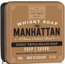 "Духи, Парфюмерия, косметика Мыло ""Манхеттен"" - Scottish Fine Soaps The Manhattan Soap In A Tin"