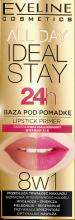 Парфумерія, косметика База під помаду 8 в 1 - Eveline Cosmetics All Day Ideal Stay