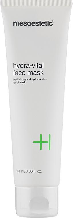 Гидро-питательная маска для лица - Mesoestetic Cosmedics Hydra-vital Face Mask