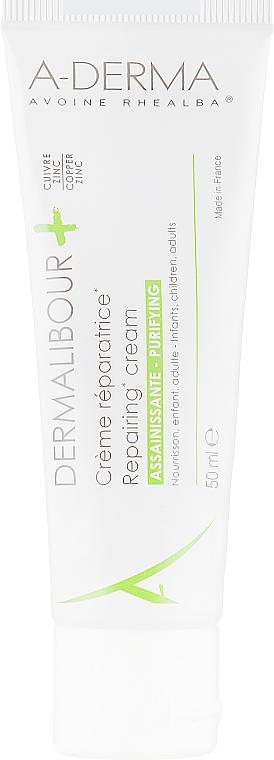 Антибактериальный крем с экстрактом овса Реальба - A-Derma Dermalibour+ Creme