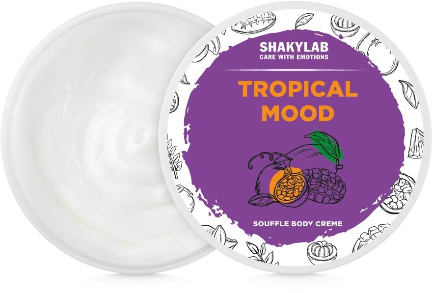 "Крем-суфле для тела ""Tropical Mood"" - SHAKYLAB Natural Body Cream Tropical Mood"