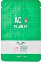 Духи, Парфюмерия, косметика Маска для проблемной кожи - Etude House AC Clean Up Sheet Mask