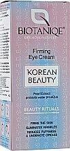 Духи, Парфюмерия, косметика Укрепляющий крем для век - Maurisse Biotaniqe Korean Beauty Firming Eye Cream