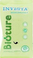 Духи, Парфюмерия, косметика Антибактериальные влажные салфетки, салатовая упаковка, 15 шт - Invista Biodegradable Antibacterial
