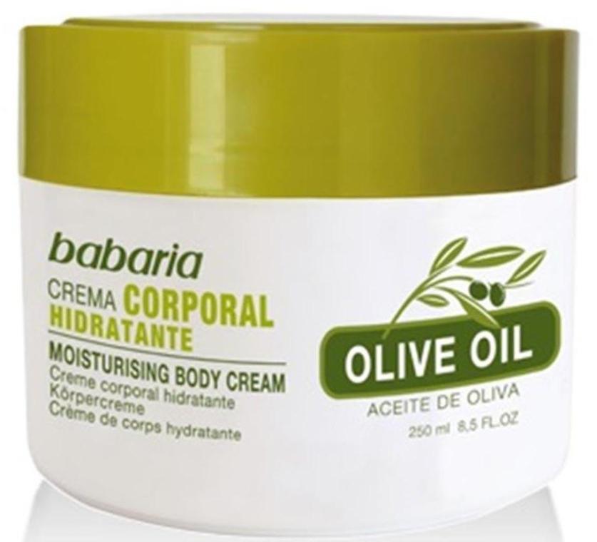 Увлажняющий крем для тела с оливковым маслом - Babaria Fragrances Moisturising Body Cream With Olive Oil