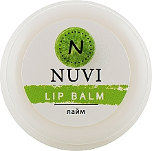 "Духи, Парфюмерия, косметика Бальзам для губ ""Лайм"" - Nuvi"