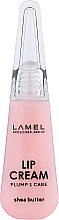 Парфумерія, косметика Крем для губ - Lamel Professional Lip Cream Plump & Care