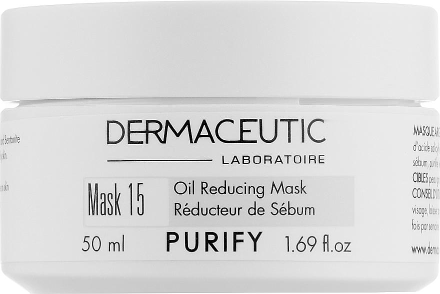 Поросуживающая глиняная маска - Dermaceutic Laboratoire Mask 15 Oil Reducing Mask