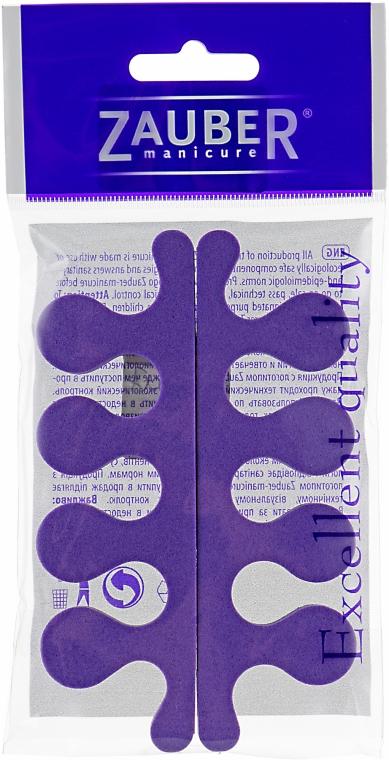 Разделители для пальцев ног, 05-010, фиолетовые - Zauber