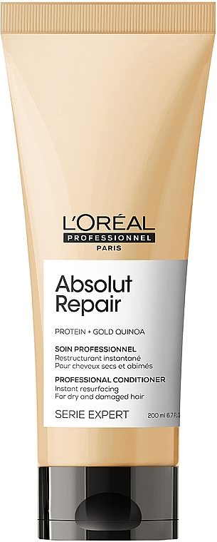 Кондиционер для интенсивного восстановления поврежденных волос - L'Oreal Professionnel Serie Expert Absolut Repair Gold Quinoa+Protein Conditioner