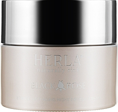 Духи, Парфюмерия, косметика Ночной крем для лица - Herla Black Rose Intense Anti-Aging Night Remedy Cream
