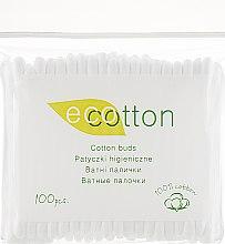 Парфумерія, косметика Ватні палички у поліетиленовій упаковці - Ecotton Cotton Buds